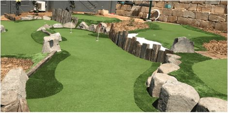 Each of our mini golf course designs is unique and executed with great attention to detail