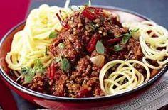 Slimming World Spaghetti Bolognese recipe - goodtoknow
