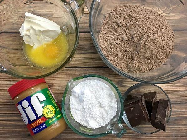 Recipe for Buckeye Brownie Cookies