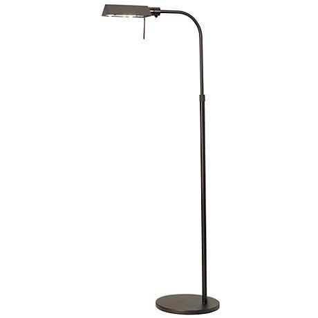 sonneman dark bronze tenda pharmacy adjustable floor lamp
