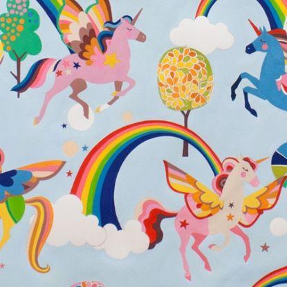Fabric... Magic Rainbow Shine in Sky by Alexander Henry Fabrics