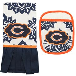 Chicago Bears Pot Holder and Kitchen Towel Set