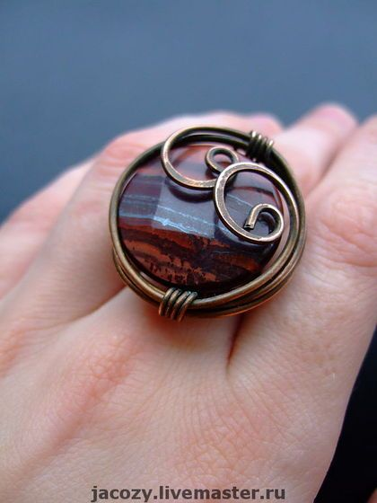 Handmade ring. Fair Masters - handmade copper rings. Handmade.