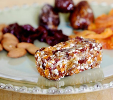 Raw Energy Bars - Spring Break Treats: 20 Fun & Fabulous Toddler Friendly Snacks | Disney Baby