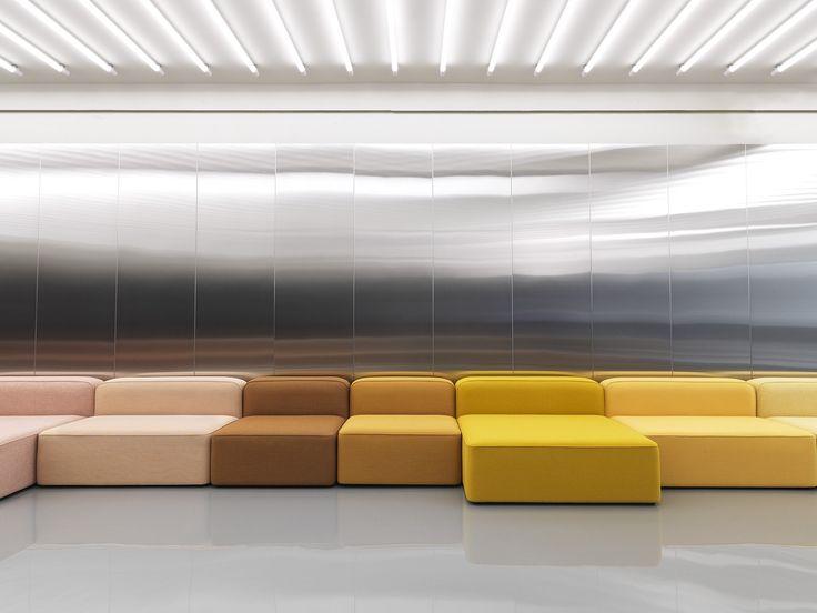 Normann Copenhagen modular Rope sofa