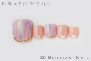 ブリリアントスタイル2015年4月号-パステルカラーで指先から春ネイル No.02