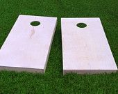Finished & Non Painted 2x4 Frame Cornhole Boards | DIY Corn Hole Boards | Corn Toss | Bag Toss | Bean Bag | UnPainted | Plain
