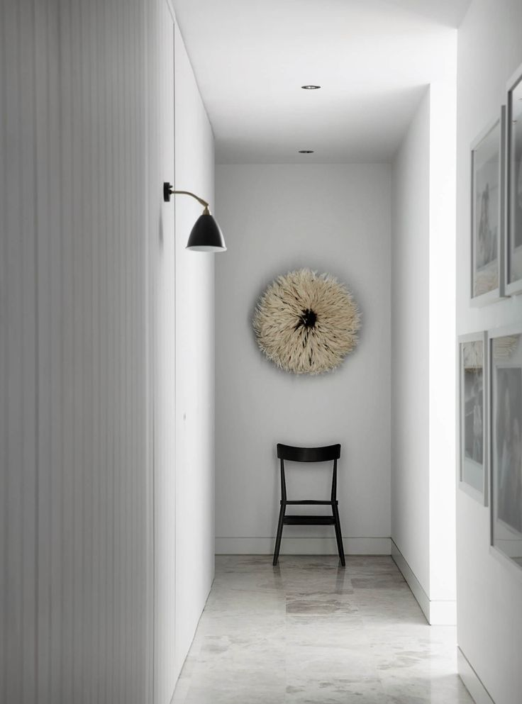 Hallway | Albert Park Apartment by Griffiths Design Studio | est living