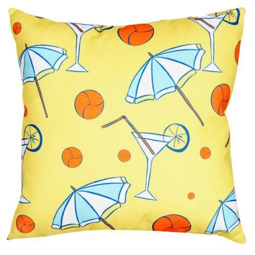 Dolce Home  Nautica Kare Yastık Şemsiyeler 39,99 TL