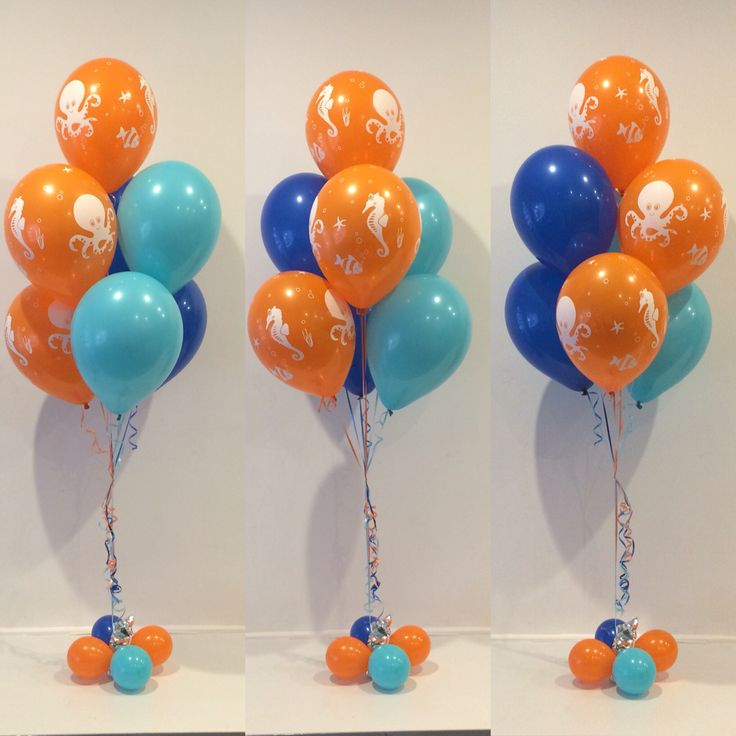 Use different all blue balloons 68 best