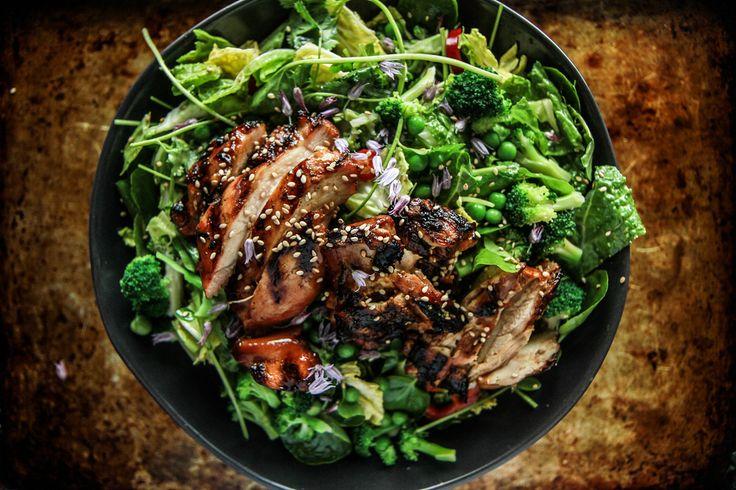 Teriyaki Chicken Salad | Heather Christo Cooks | Bloglovin'
