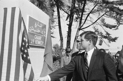 Kennedy au Boulevard Kennedy à Casablanca #Casablanca #Maroc #Morocco #Moroccan #History