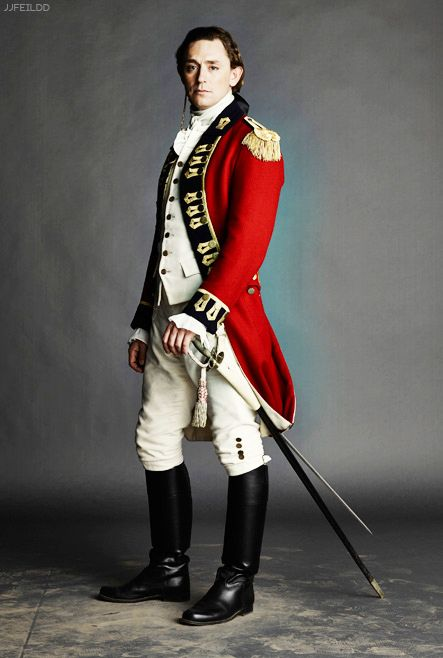 GAHH!! Finally! #JJFeild as Major John Andre in Turn: Washington's Spies, Season 2. Premieres April 13, 2015.