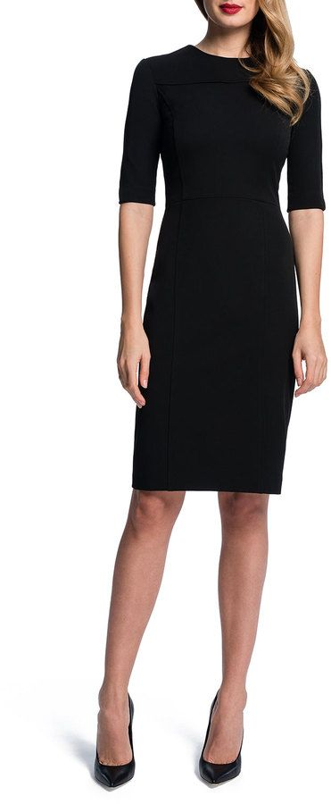15 Must-see Black Sheath Dresses Pins | Women's sheath dresses ...