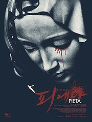 Pieta (2013)   Kim Ki-Duk   Winner of the Golden Lion at the 2012 Venice Film Festival, Pieta is the acclaimed film from the celebrated and controversial Korean director Kim Ki-Duk (Bad Guy; Spring, Summer, Fall, Winter... And Spring; 3-Iron). In this intense and haunting story, a loan shark living an isolated and lonely existence uses brutality to threaten and collect paybacks from desperate borrowers for his moneylender boss. One day, a mysterious woman appears in front of him...