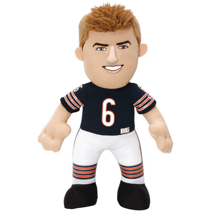 "Jay Cutler Chicago Bears 10"" Player Plush Doll - $15.99"