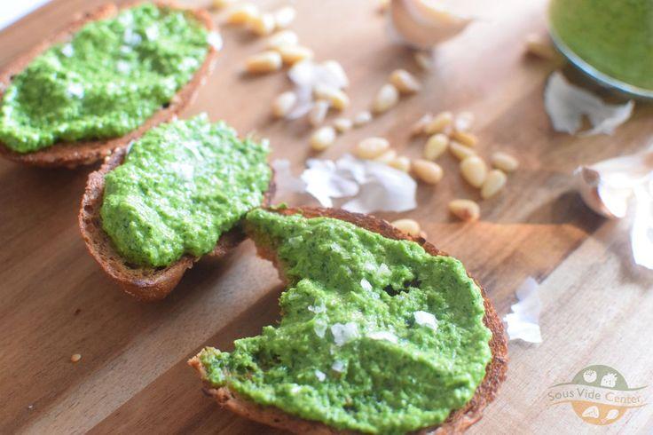 Petrezselyem pesto és tartósítása sous vide -el #sousvide #pesto #italian #olasz #petrezselyem #parsley