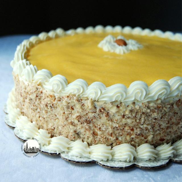 Tutorial come decorare una torta a strati con buttercream for Decorazioni torte uomo con panna