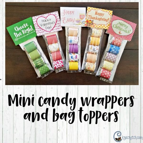 I love these candy wrappers- they always turn out cute. The CTR one is perfect for LDS Primary this year.