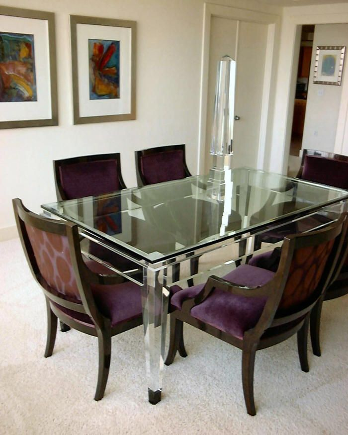 acrylic dining room furniture sets table plum chairs images mod acrylics tables