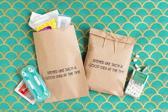 Wedding Treat Bag  Paper Wedding Favor Bag  by becollective