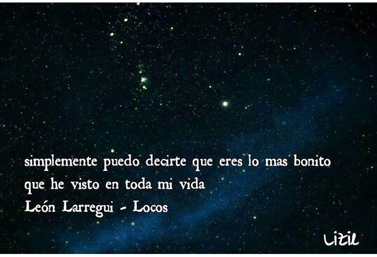 """León Larregui. El mejor compositor de nuestra era La canción se llama """"Locos"""""""