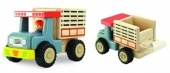 Mini wooden truck for mini hands.