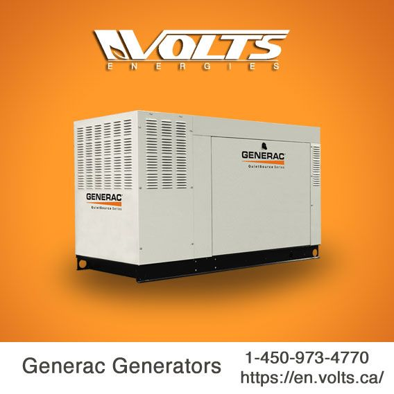 Pin by voltsenergiescanada on Generac Generators | Home appliances
