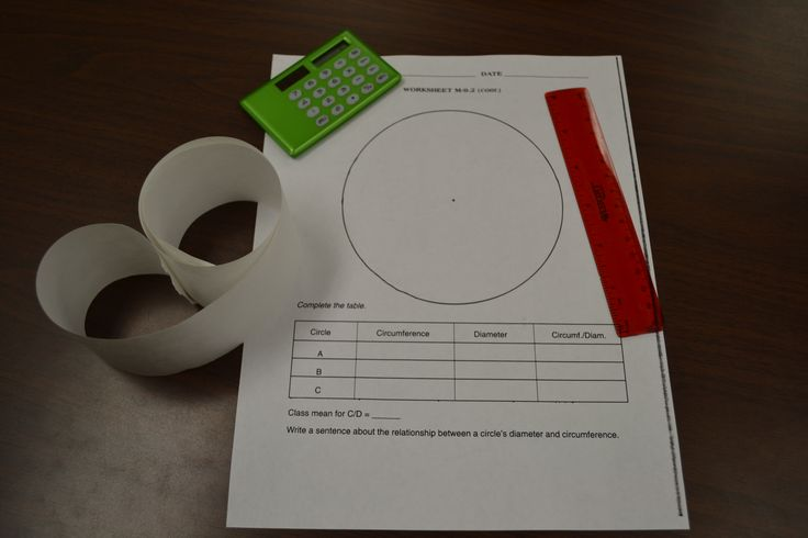 Circumference and area of a Circle and Coordinate Graphing