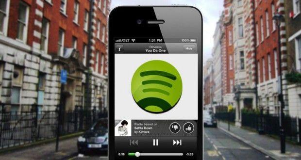 Spotify gratis para iOS