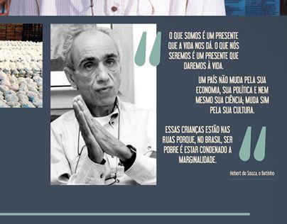 """Check out new work on my @Behance portfolio: """"Exposição - 80 anos de Herbert de Souza, O Betinho"""" http://be.net/gallery/36328647/Exposicao-80-anos-de-Herbert-de-Souza-O-Betinho"""