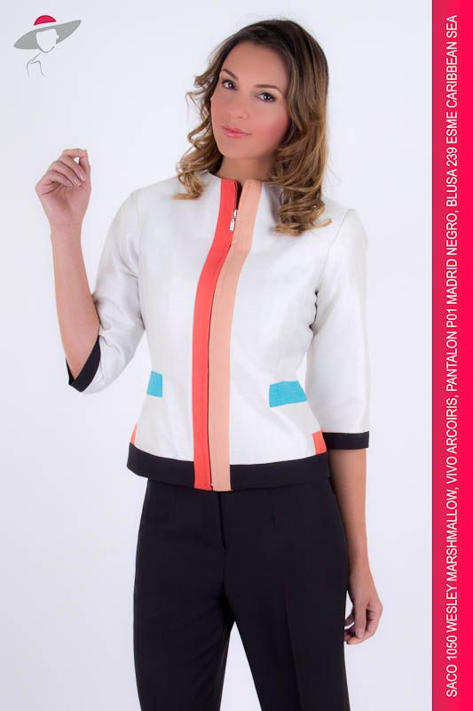 White Short Sleeve Blouse With Collar