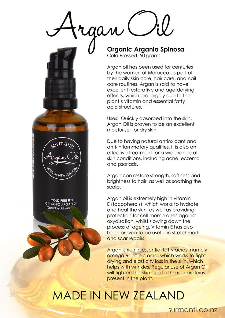 Surmanti Cold Pressed Organic Argan Oil.