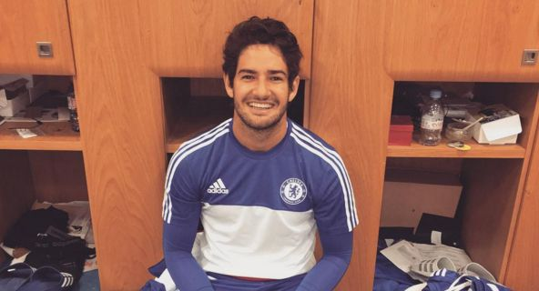Alexandre Pato is training today. Wont be at MK Dons with Chelsea [Instagram]