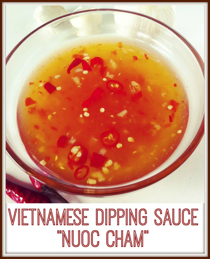 Love Vietnamese food and want to make that tasty dipping sauce? Well, here's the real deal! Authentic, Vietnamese dipping sauce. Nuoc cham