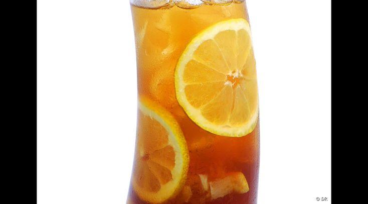 """Le """"Marrakech Iced Tea"""", le cocktail sans alcool au sirop de thé Monin"""