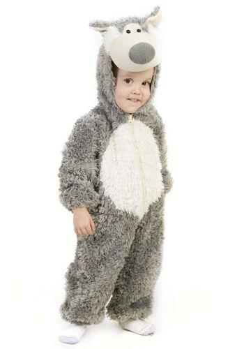 Toddler Big Bad Wolf costume #Halloween #LittleRedRidingHood