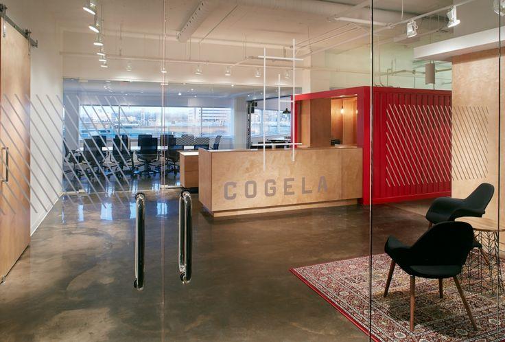 COGELA - Corporatif - Design intérieur | PROVENCHER_ROY
