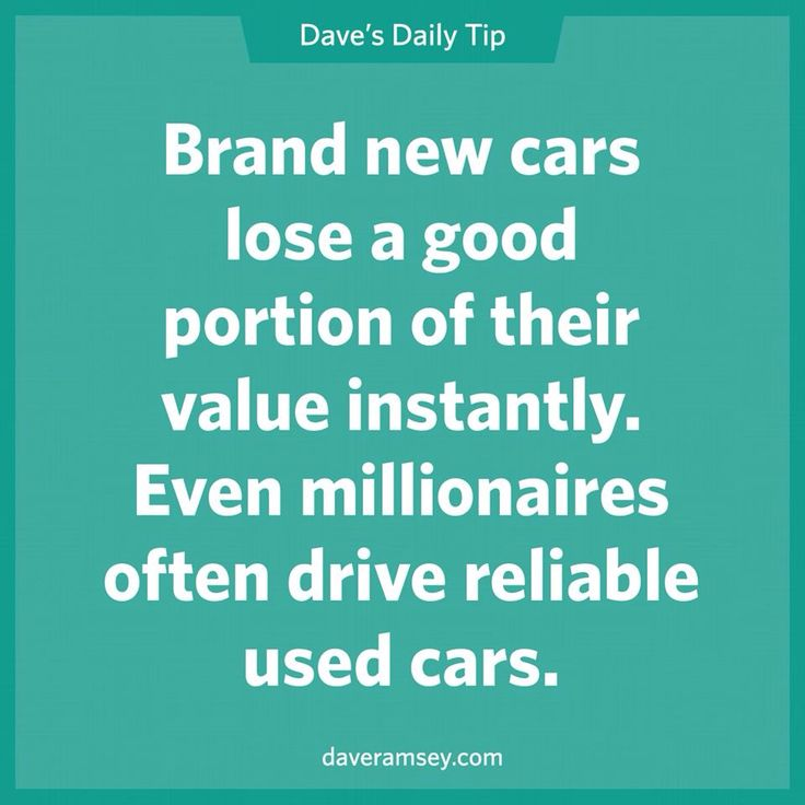 Buy New Or Used Car Dave Ramsey