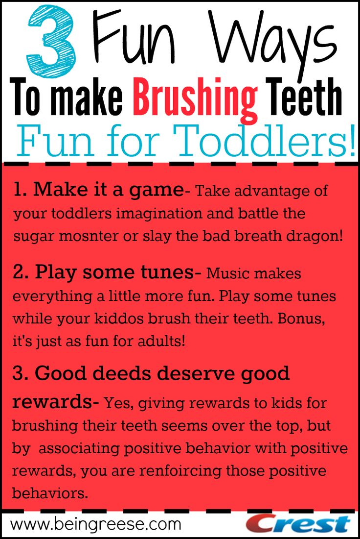 3 fun ways to make brushing teeth exciting for toddlers + more tips for a healthy and beautiful smile #parenting #toddlers #health #ad
