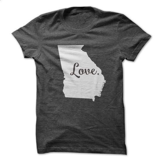 Love Georgia - #easy gift #hoodies/jackets. MORE INFO => https://www.sunfrog.com/States/Love-Georgia-62502412-Guys.html?60505