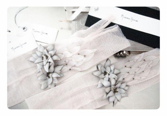 Sofi's wedding gloves