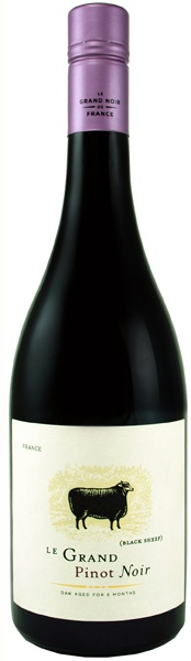 This French pinot noir is easy to drink and offers pure aromas of cherry, currant and savory spices.  It is great with light food, or hanging out.  The price tag is especiall good at about $10 a bottle.