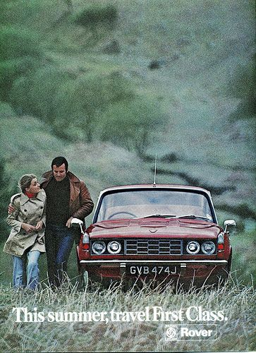 Rover 2000 - advert from the pages of Country Life, issue dated 8 July 1971