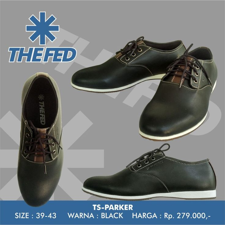 THE FED Footwear TS-PARKER Black  jujung@gmail.com