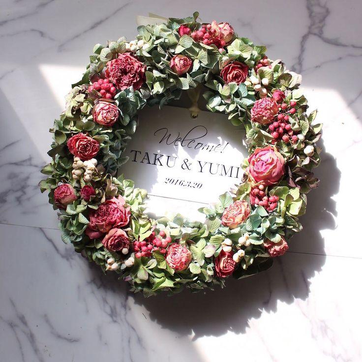 GALLERY・ギャラリー Dried Flower Arrangement Peony ピオニー ドライ