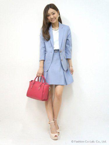 清潔感MAX♡20代のスカートスーツコーデまとめ一覧です☆