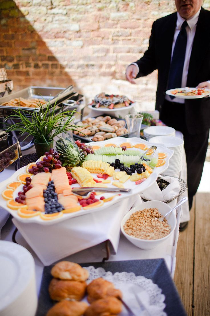 wedding brunch? I want an evening wedding but heck we have to have breakfast that day too!