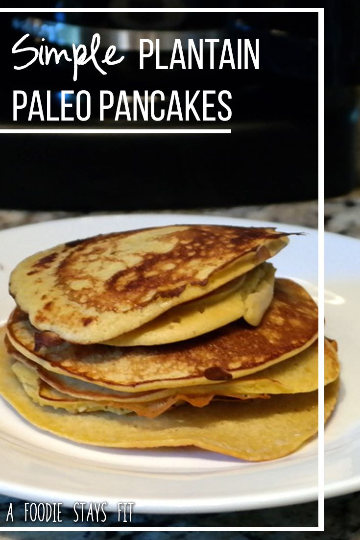 Pancakes are a great weekend treat. These plantain pancakes are the ultimate weekend treat though!