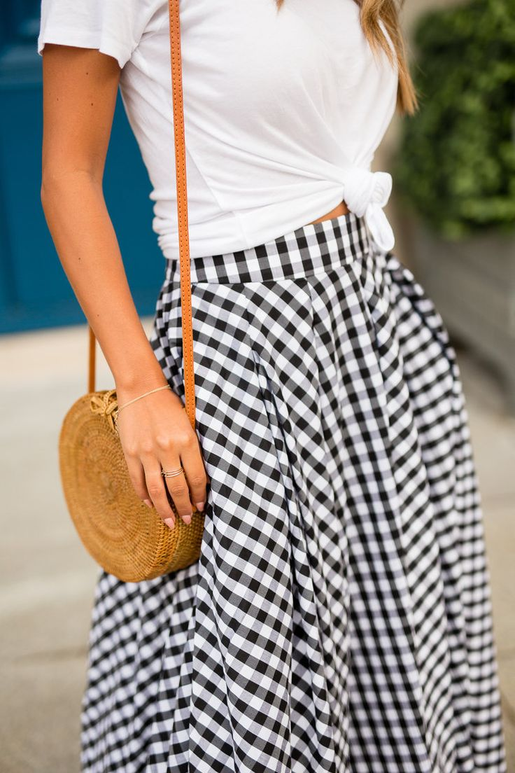Place Vendome, Paris - what to wear in Paris, Gingham Skirt via Fame + Partners